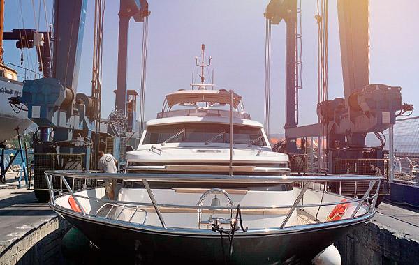 Installations de la Marina Meira